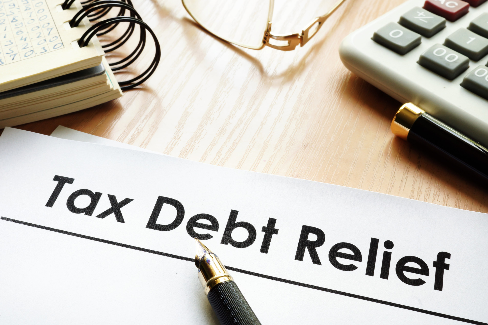 tax debt relief image
